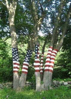 Tree flag