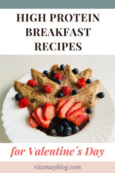 High protein vegan recipes for a special morning on Valentine´s Day #veganrecipes #highprotein #breakfast #valentinesday High Protein Vegan Breakfast, High Protein Vegan Recipes, Healthy Recipes, Health And Fitness Tips, Health And Wellness, Womens Wellness, Mindful Eating, The Best, Breakfast Recipes