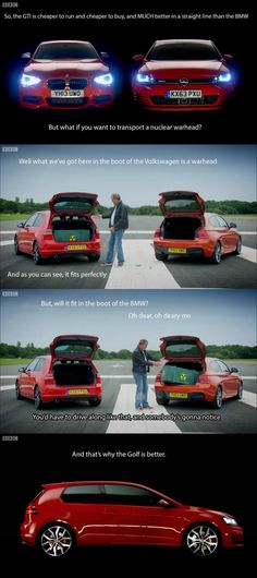 And this is why anyone who drives a VW Golf is a terrorist lol.