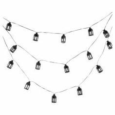 Buy Tesco Marakesh Lantern Solar String Lights - Bronze from our Solar Lights range - Tesco.com