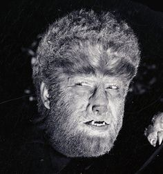 Lon Chaney Jr. as the Wolf Man