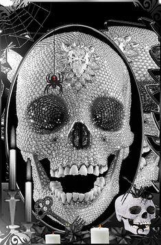 Samhain Halloween, Halloween Gif, Happy Halloween, Dark Pictures, Gif Pictures, Live Moving Wallpaper, Grim Reaper Art, Holiday Gif, Skeleton Art