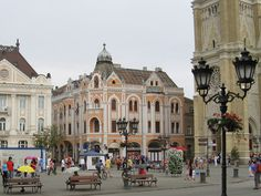Novi Sad, Serbia - Trg Slobode  Just down the road from where I was born