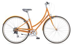 Tangerine: What could be more perfect for spring than this bright orange bicycle from PUBLIC BIKES?