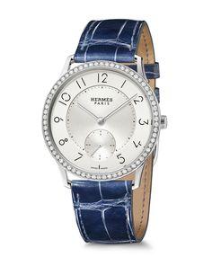 3efa63d1a50 La montre Slim d Hermès Fininho