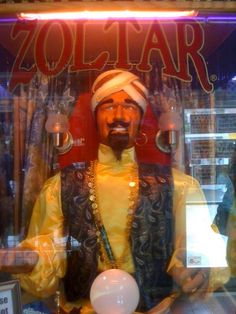 Come find Zoltar in Myrtle Beach, SC at the Broadway of the Beach (inside of magic shop) and find your future fortune. You don't find Zoltar is very many places anymore.