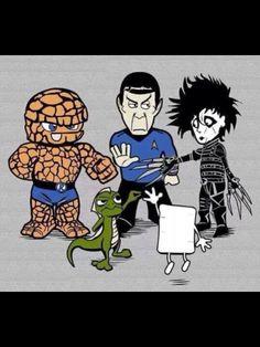 Rock, paper, scissors, lizard, Spock!
