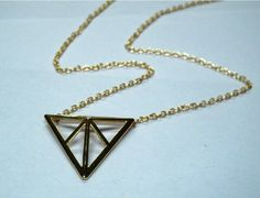 Mix minimum order $16,new arrival ogold plated  hollow out triangle on AliExpress.com. $1.80