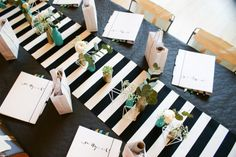 table setting - wedding workshop