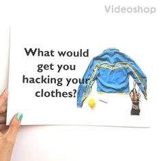 This little questionnaire is to find out just what would help people to start hacking their clothes (click on pic to go see it ).   Hundreds of people have answered so now we know just what to do, tthe more the merrier! Mollie Makes, How To Find Out, How To Make, Helping People, You Got This, Awards, Colour, Teaching, Writing