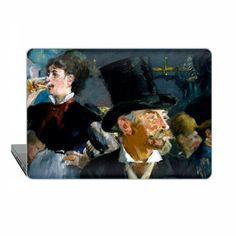 Edouard Manet Macbook Pro 13 impressionist Case Cafe by ModCases