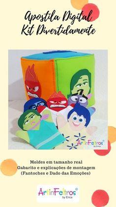 Emotion, Luau, Mini, Emotional Intelligence, Kids Psychology, Kids Learning Activities, Puppets, Early Education, Feltro