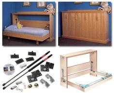 "Exceptional ""murphy bed ideas ikea diy"" detail is offered on our internet site. Check it out and you will not be sorry you did. Decorate Your Room, Bed Comforters, Furniture, Bed, Bed Wall, Folding Beds, Construction Bedding, Diy Bed, Murphy Bed Hardware"