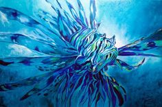 """Lion Fish"" par Marcia Baldwin"