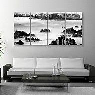 Reprodukce na plátně umění černé a bílé ve stylu ... – USD $ 99.99