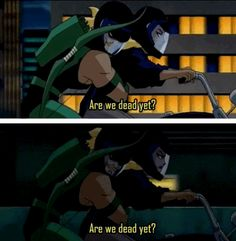 Green Arrow and Black Canary own their status as the snark couple. | 22 Times The Justice League Proved Their Superpower Is Sass
