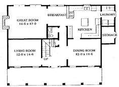Authentic Historical Designs, LLC House Plan * so stinkin' close!