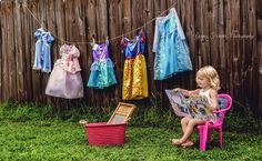 My own version of a princess' laundry day.  www.facebook.com/YoungForeverPhotographyFL