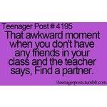 ven funny, it happened a lot . Ok its kida funny Funny Teen Posts, Relatable Posts, Funny Relatable Memes, Funny Quotes, Teenager Quotes, Teen Quotes, Teenager Posts, Third Wheel, Teen Life
