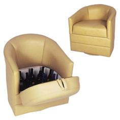 Simple Adorable Small Barrel Chairs: Small Barrel Chairs Cream Gold  Luxurious Upholstered Leather Chair Small Swivel Barrel Chair With Storage  For Living ...