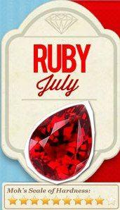 july birthstone the ruby