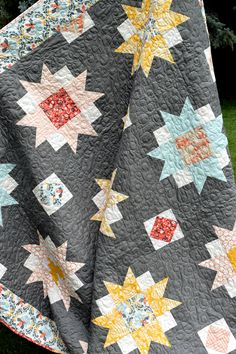 Moon Blossoms Quilt