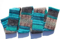 Kelley Deal's Scarves Made From Upcycled Sweaters