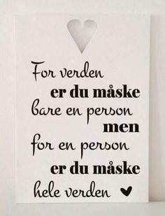 Danish Language, Boxing Quotes, Cute Notes, Wonder Quotes, Fake Friends, Happy B Day, Word Of The Day, Family Love, Love Words