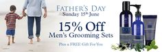 Special Fathers Day offer, still time to order xx Men's Grooming, Free Gifts, Fathers Day, Spa, Skin Care, Corporate Gifts, Skincare Routine, Skin Treatments