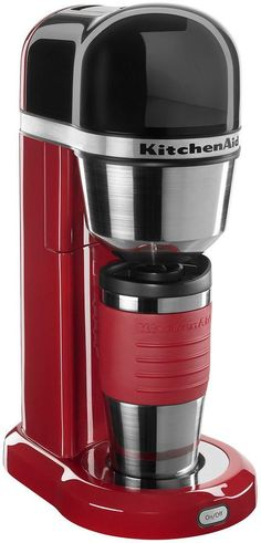 Got my Single Serve Coffee Maker! Kitchen Aid KitchenAid Personal Coffee Maker with Removable Reservoir KCM0402