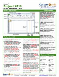 Ms Project 2010 Guide Pdf