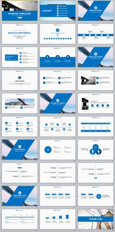 30+ Blue multipurpose PowerPoint templates on Behance #powerpoint #templates #presentation #animation #backgrounds #pptwork.com #annual #report #business #company #design #creative #slide #infographic #chart #themes #ppt #pptx #slideshow