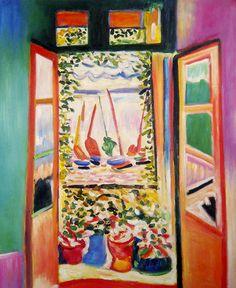 Open Window, Collioure by Henri Matisse