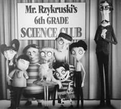 love the characters in frankenweenie.
