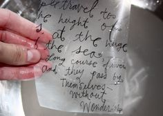 Journaling: Transferring Images with Con-Tact Paper | Ashley Hackshaw / Lil Blue Boo