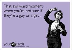 Awkward!!! lol!