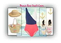 """""""Beach Hair Don't Care"""" by airrazor23 ❤ liked on Polyvore featuring Solid & Striped, J.Crew, Rebecca Minkoff and Peter Grimm"""