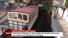 Bom Jesus do Monte - Funicular mais antigo do  mundo vai ter uma aplicação móvel:)