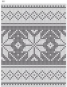 Poinsettias In The Snow / Drops Extra - Free Knitting Patterns By Drops Design - Diy Crafts Fair Isle Knitting Patterns, Knitting Charts, Knitting Stitches, Knitting Designs, Free Knitting, Cross Stitch Borders, Cross Stitch Patterns, Crochet Chart, Crochet Patterns