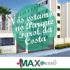 Fortaleza, Ceará. Nosso Gesso é utilizado nas melhores obras do país! :) Veja: http://www.mrv.com.br/imoveis/apartamentos/ceara/fortaleza/barradoceara/parquefaroldacosta