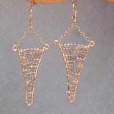 Bohemian 13 Chandelier earrings choice of by CalicoJunoJewelry