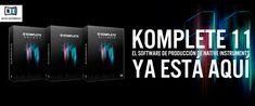 KOMPLETE 11, EL SOFTWARE DE PRODUCCIÓN DE NATIVE INSTRUMENTS YA ESTÁ AQUÍ