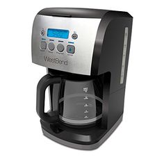 West Bend 56911 12 Cup Steep  Brew Coffee Maker BlackMetallic * Check out this great product.Note:It is affiliate link to Amazon.