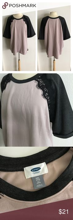"""🆕Old Navy thick top Old Navy thick top. Size XXL. Measures 29"""" long with a 50"""" bust. Semi thick- would be great for fall! Sewn cuffed sleeves. Extremely soft and stretchy! Manufactured semi pre-pilled look. NWT.  💲Reasonable offers accepted ✅Bundle offers Old Navy Tops"""