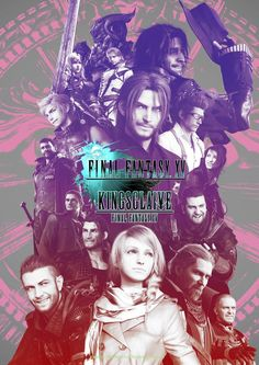 """verryfinny: """" Final Fantasy XV & Kingsglaive visual in honor of the Osaka film screening. Can you spot Umbra and Pryna? Noctis Final Fantasy, Final Fantasy Art, Fantasy Series, Final Fantasy Xv Wallpapers, Noctis And Luna, Spider Verse, Cultura Pop, Disney And Dreamworks, Kingdom Hearts"""