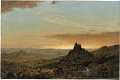 Cross in the Wilderness, 1857 - Frederic Edwin Church