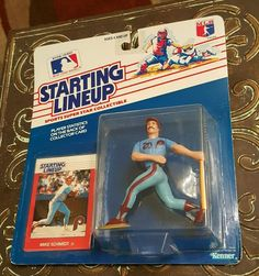 MIKE SCHMIDT 1988 STARTING LINEUP UNOPENED New PHILLIES Action Figure Card MLB #Kenner