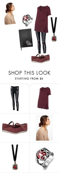 """Untitled #38"" by lucia-valle-sanchez on Polyvore featuring Merrell, NOVA, Design Lab and Sloane Stationery"