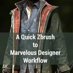 Marvelous Designer Workflow Tutorial, yuri alexander on ArtStation at…