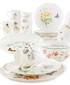 Lenox Dinnerware, Butterfly Meadow Collection | macys.com